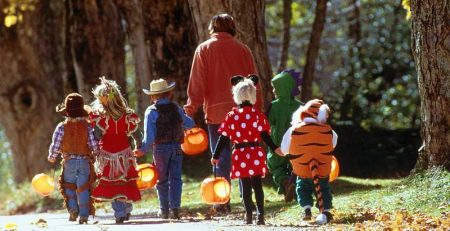 Halloween Safety and trick-or-treating safety.