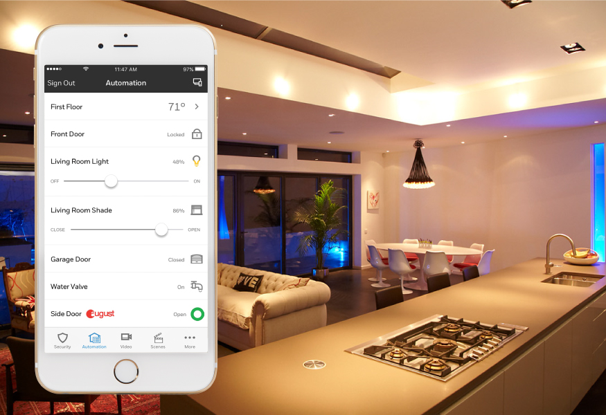 total connect home automation